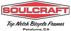 Soulcraft Bikes - Top Notch Bicycle Frames - Petaluma, CA